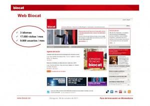 Web Biocat 2009-2014
